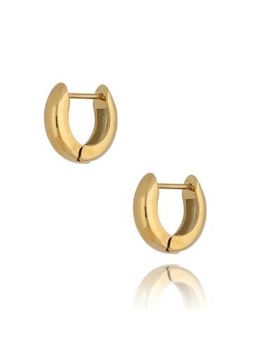 Kolczyki złote ze stali szlachetnej KSA0275