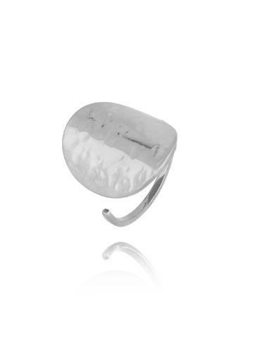 Pierścionek srebrny ze stali szlachetnej PSA0118 rozmiar 15