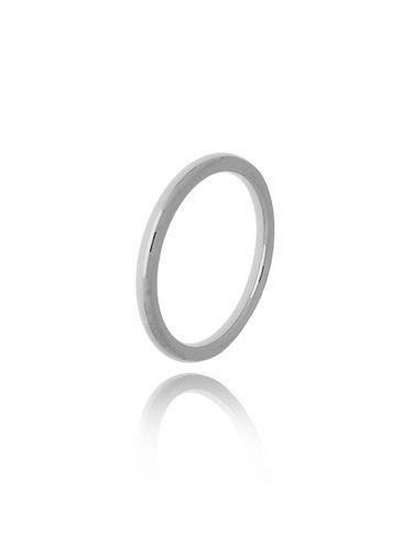 Pierścionek srebrny ze stali szlachetnej PSA0134 Rozmiar 15