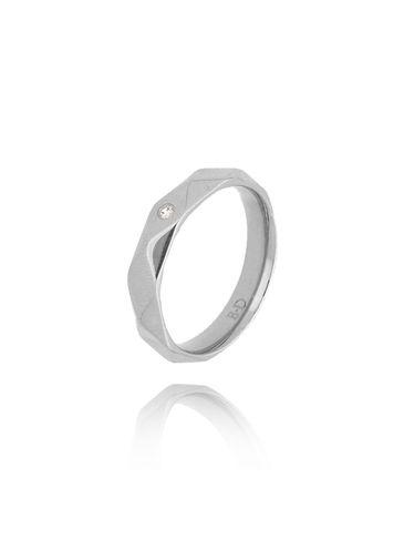 Pierścionek srebrny ze stali szlachetnej PSA0114 rozmiar 12