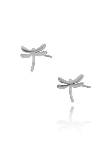 Kolczyki srebrne ważki KSA0130