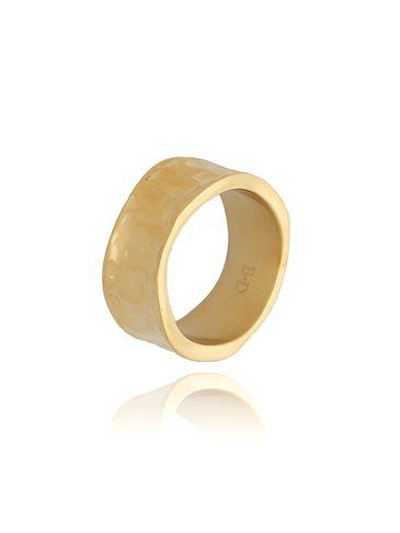 Pierścionek złoty ze stali szlachetnej PSA0170 rozmiar 12