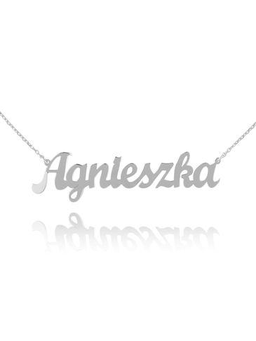 Naszyjnik srebrny AGNIESZKA NAT0224