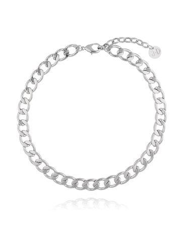 Naszyjnik srebrny łańcuch gruby NRG0166