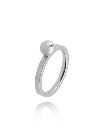 Pierścionek srebrny ze stali szlachetnej PSA0116 rozmiar 15
