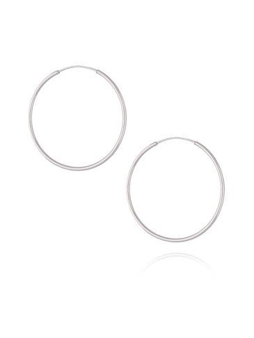 Kolczyki srebrne koła KSE0058 3,2 CM