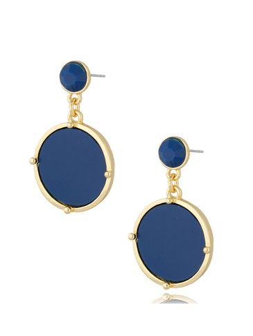 Kolczyki wiszące niebieskie Bella KTO0028