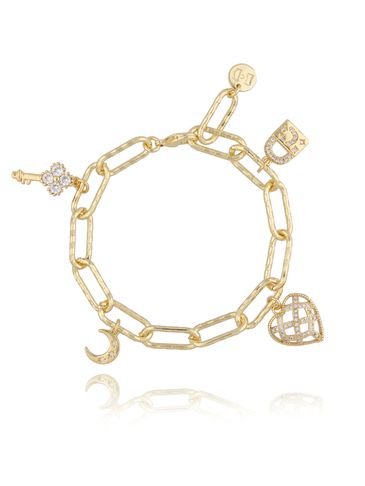 Bransoletka złota z sercem BRG0158