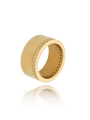 Pierścionek złoty ze stali szlachetnej Just Gold PSA0179 rozmiar 14