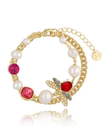 Bransoletka z perłami i owadem BMI0060