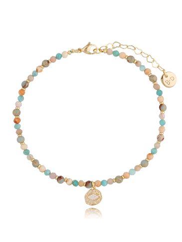 Kolorowa bransoletka na kostkę Wendy BNTW0046