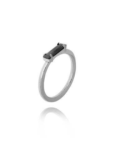 Pierścionek srebrny ze stali szlachetnej PSA0156 Rozmiar 12