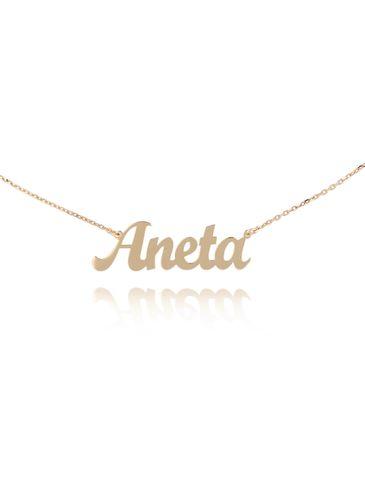 Naszyjnik pozłacany ANETA NAT0226