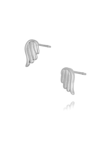 Kolczyki srebrne skrzydełka ze stali szlachetnej KSA0102