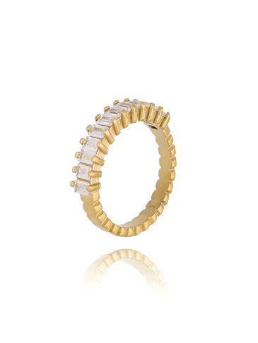 Pierścionek złoty ze stali szlachetnej Paris PSA0195 rozmiar 12