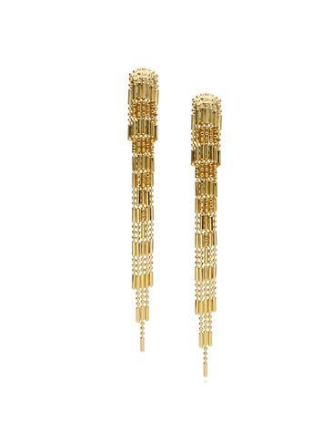 Kolczyki złote długie kaskadowe KRG0515