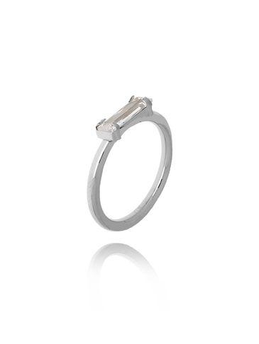 Pierścionek srebrny ze stali szlachetnej PSA0155 Rozmiar 12