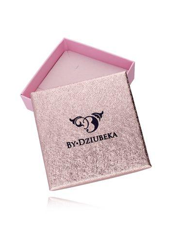 Pudełko różowe złoto OPA0164