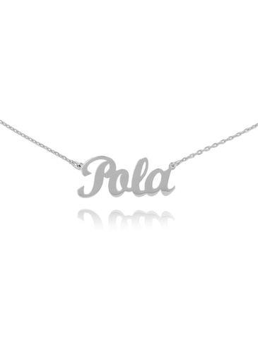 Naszyjnik srebrny POLA NAT0134