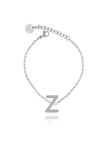 Bransoletka srebrna z literką Z BAT0098