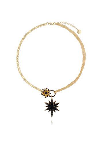 Naszyjnik ze złotą gwiazdą NU0008