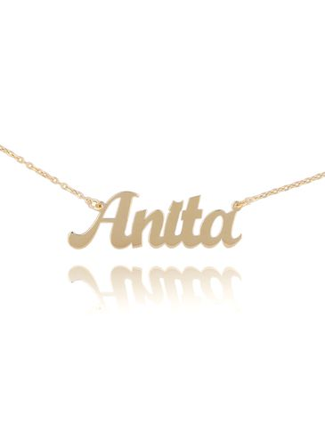 Naszyjnik pozłacany ANITA NAT0236