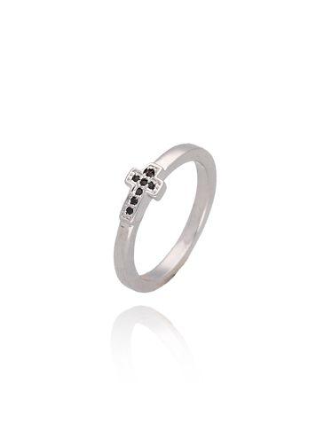 Pierścionek srebrny z krzyżykiem PCO0017 rozmiar13