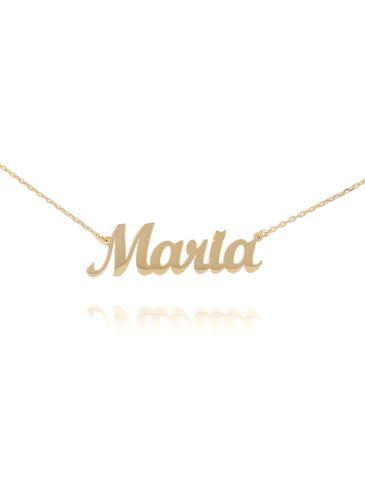 Naszyjnik srebrny pozłacany MARIA NAT0132