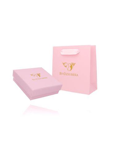 Zestaw prezentowy pudełko i torebka różowy OPA0188