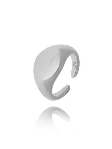 Pierścionek srebrny matowy ze stali szlachetnej PSA0167