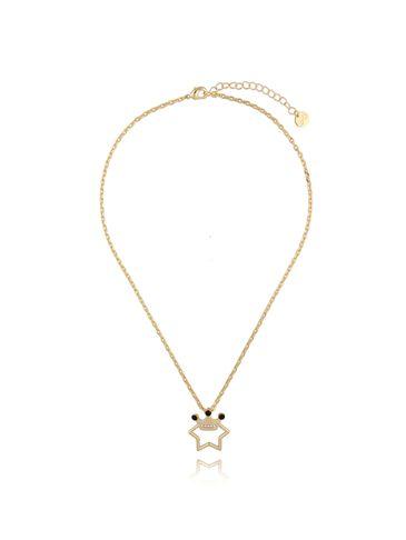 Naszyjnik złoty z koroną NRG0270