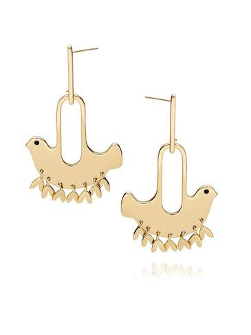 Kolczyki złote gołębie KNE0006