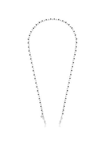 Łańcuszek do okularów z kryształkami i gwiazdkami NOA0030