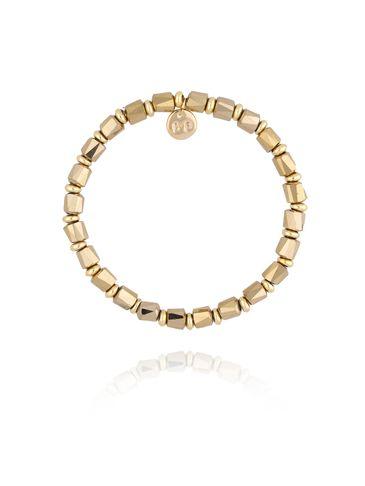 Bransoletka ze złotymi kryształkami BBL0158