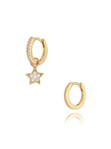 Kolczyki złote Lonely Star KFA0041