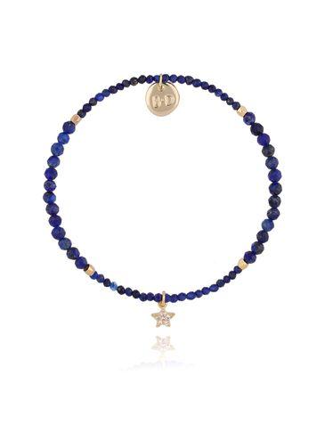 Bransoletka z lapisem lazuli BTW0306
